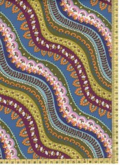 Indian Summer Gypsy Stripe Jewe Fat Quarter - 50cm x cca 55 cm