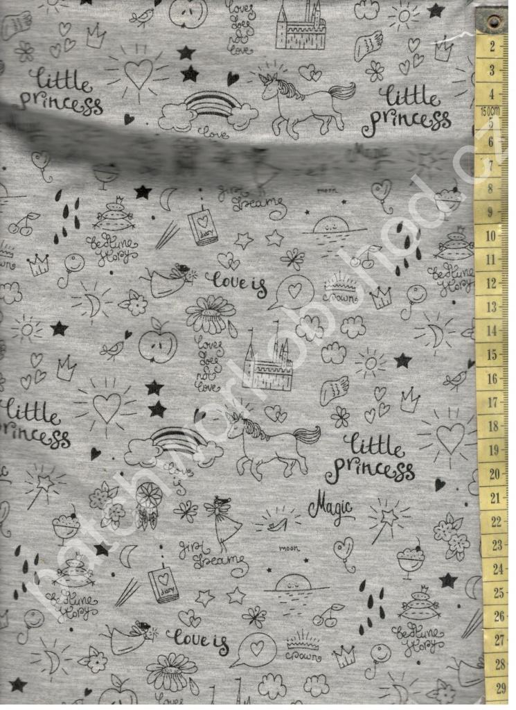 O Úplet little princess - svítící úplet 95% bavlna 5% elastan ... d1ba63ae08