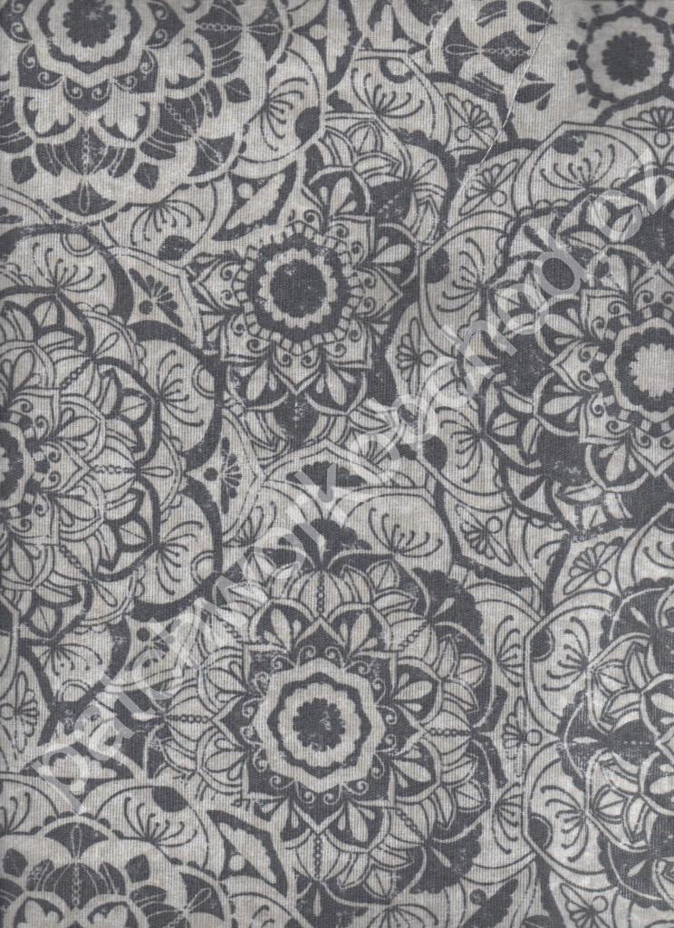 7dc5e8d09305 SD Dekorační látka - mandaly 60% bavlna 40% polyester 140 cm šíře ...